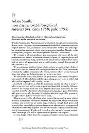 Scholarly Essay Example Adam Smith Essays