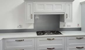 Kitchen Splashback Ideas Uk Glass Metallic Painted Kitchen Glass Splashbacks Grey