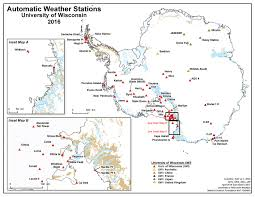 University Of Wisconsin Madison Map by Uw Center Helps Determine Antarctica U0027s Highest Temperatures