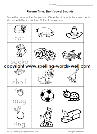 free phonics worksheets for kindergarten 28 templates page