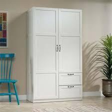 Sauder Armoires Sauder Select Wardrobe Armoire In White