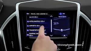 how to use cadillac cue navigation youtube
