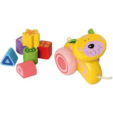 im toy houten loopduw wagen poes jpg
