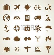 travel symbols images Vector travel icons vacation signs and symbols royalty free jpg