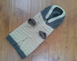 crochet dog coat etsy