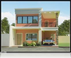 modern 2 story house plans imagined 2 storey modern house plans modern house plan
