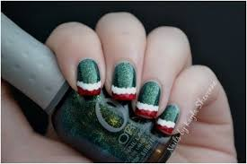 top 10 elegant diy christmas nail art top inspired
