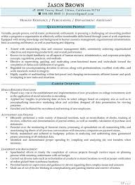 functional summary on a resume example to write a summary