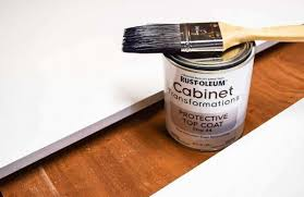 cabinet protective top coat tips for updating melamine cabinets with oak trim the handyman s