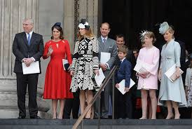 the s 90th birthday royals step out for national