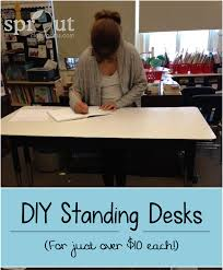 Learning Desk Classroom Diy Standing Desk Sprout Classrooms