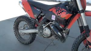 2009 ktm 300 xcw with pro citcut spark arrestor silencer youtube