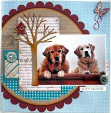 dog scrapbook album 1270 best dog scrapbooking images on scrapbooking