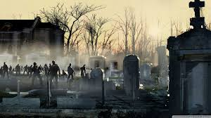 halloween cemetery wallpaper left 4 dead backgrounds group 65