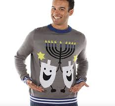 light up hanukkah sweater 8 ugly hanukkah sweaters that will light up the holiday the forward