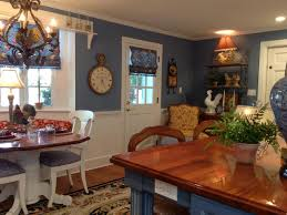 french country blue kitchen cabinets kitchen exitallergy
