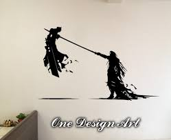 cloud and sephiroth final fantasy vii home decor mural arts zoom