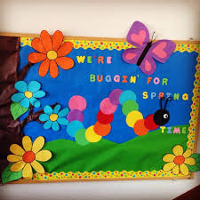 spring bulletin board ideas high school Spring Bulletin Board