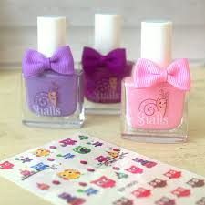 childrens u0027 nail polish and nail sticker set by little ella james