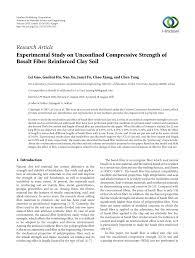 Sho Metal Yang Asli experimental study on unconfined pdf available