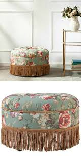 best 25 round tufted ottoman ideas on pinterest tufted ottoman yolanda sea mist green and red floral fabric round ottoman