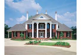 neoclassical home eplans neoclassical house plan classic colonial estate 4242