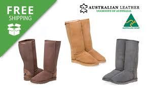 ugg boots australian leather australian leather uggs groupon goods