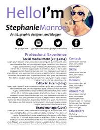 Social Media Resume Template 34 Best Our Resumes Images On Pinterest Cover Letters Resume