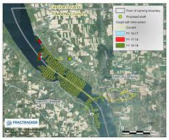 Ithaca Map Did You Know There U0027s A 13 000 Acre Salt Mine Under Lansing And