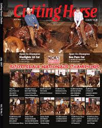 ncha cutting horse chatter by cowboy publishing group issuu