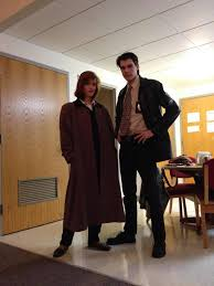 movie inspired costumes dana scully and fox mulder the x files