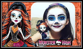 monster high skelita halloween costume skelita calaveras monster high maquiagem para halloween