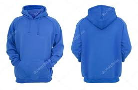 blue hoodie design u2014 stock photo wbbstock 67585861