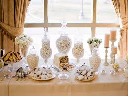 banister christmas decorations wedding candy table ideas wedding