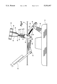 patent us5351467 height adjustment mechanism for riding mower