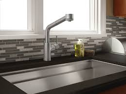 high arc kitchen faucets hansgrohe 04247800 steel optik talis s kitchen faucet mega