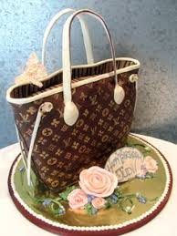 louis vuittion handbag cake louis vuitton cake and handbag cakes