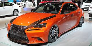 2015 red lexus is 250 best of the 2014 chicago auto show