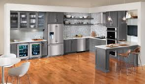 Painted Gray Kitchen Cabinets Modern Kitchen Gray Cabinets Outofhome