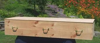 pine coffin caskets and urns