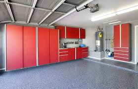 stainless steel workbench cabinets garage workbench cabinets in and powder coated red with stainless