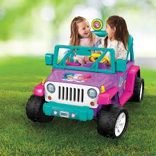 power wheels jeep yellow powered vehicles kids u0027 electric cars kmart