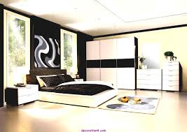 very beautiful bedroom decorating with large bed for couple and