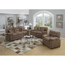 furniture garcia 3 piece wayfair living room sets in cream for