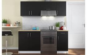 cuisine pour studio ensemble meubles de cuisine noir pour studio 180 cm