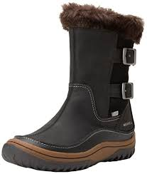 womens boots on amazon amazon com merrell s decora chant waterproof winter boot