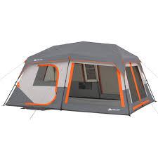 ozark trail 11 person instant cabin with private room walmart com