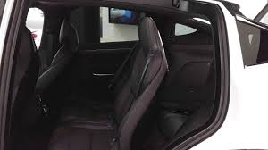 tesla model 3 interior seating tesla model x middle row seating operation to allow rear seat