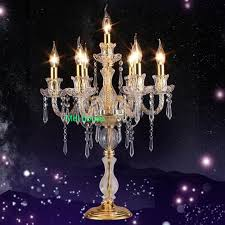 Table Lamps For Living Room Modern by Aliexpress Com Buy Crystal Table Lighting For Weddings Modern