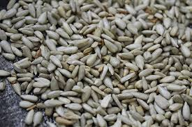 sesame seeds and flax seed health blend with sunflower seeds